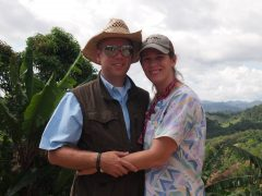 Jay and Melissa in mountains of Guatemala