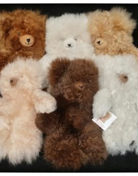 3: Alpaca Teddy Bears